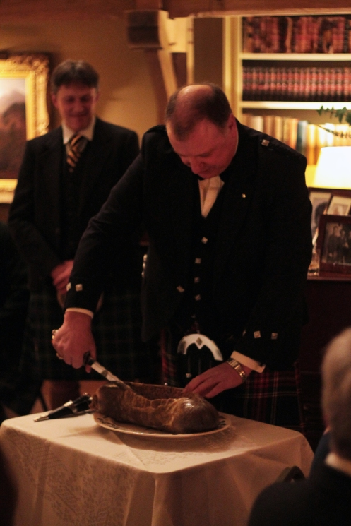 Burns Supper at Finzean House